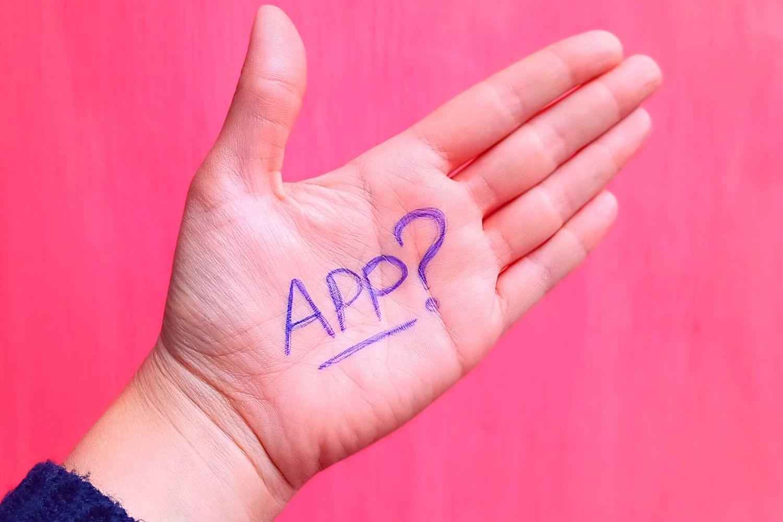 Met een app leer je niet spreken