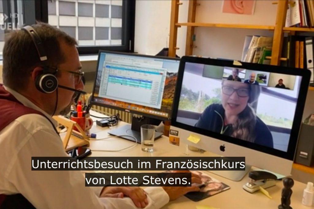 Lotte op de Duitse televisie
